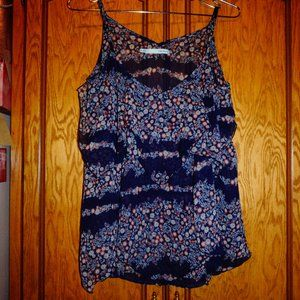 Maurices Sheer layered floral tank